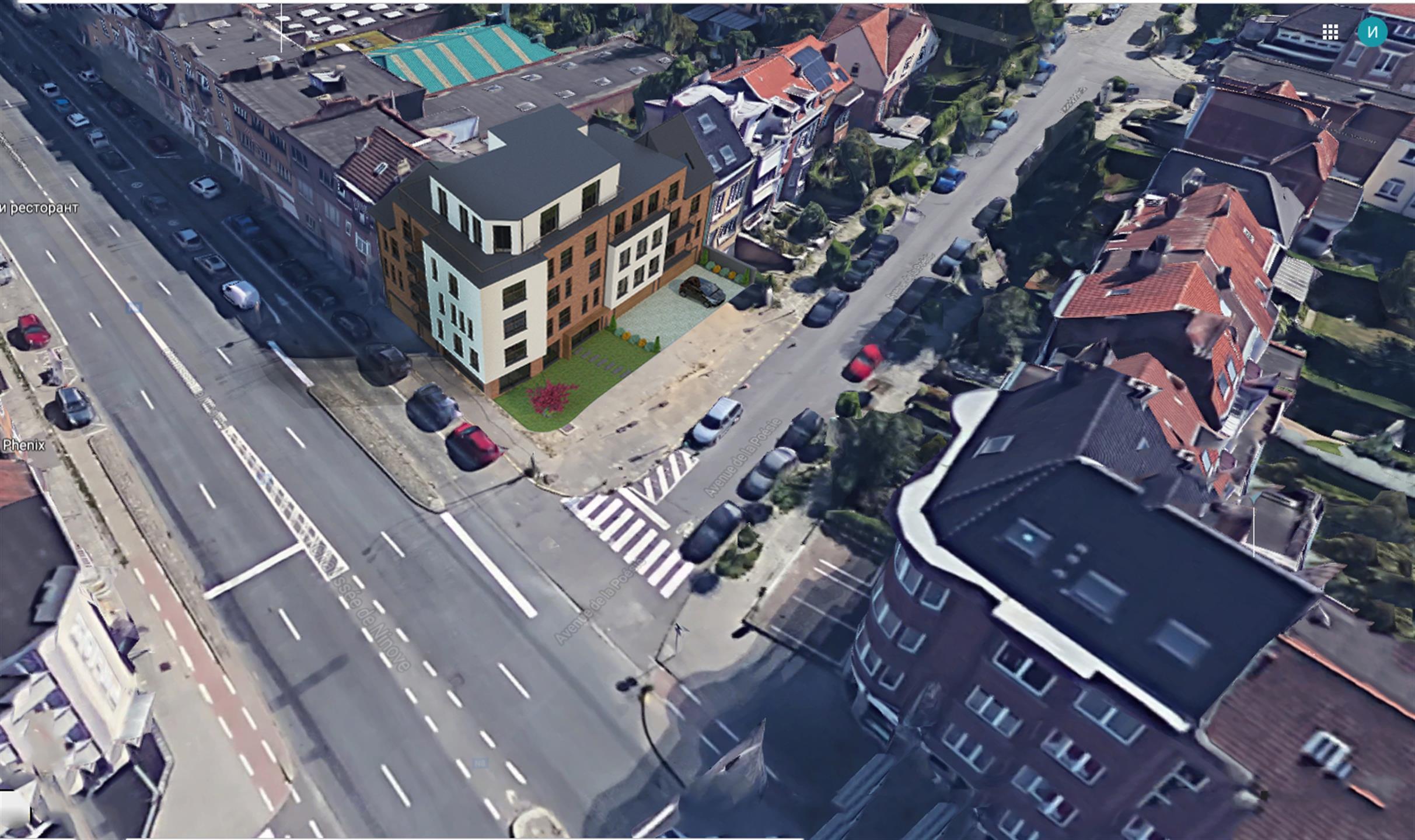 Parking intérieur - Anderlecht - #4314203-4