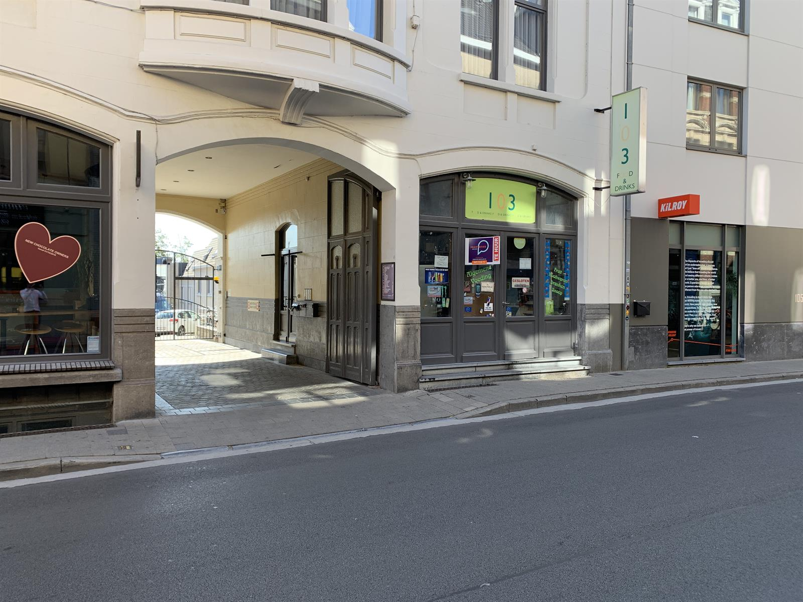 Leuke winkel/kantoor centrum Gent