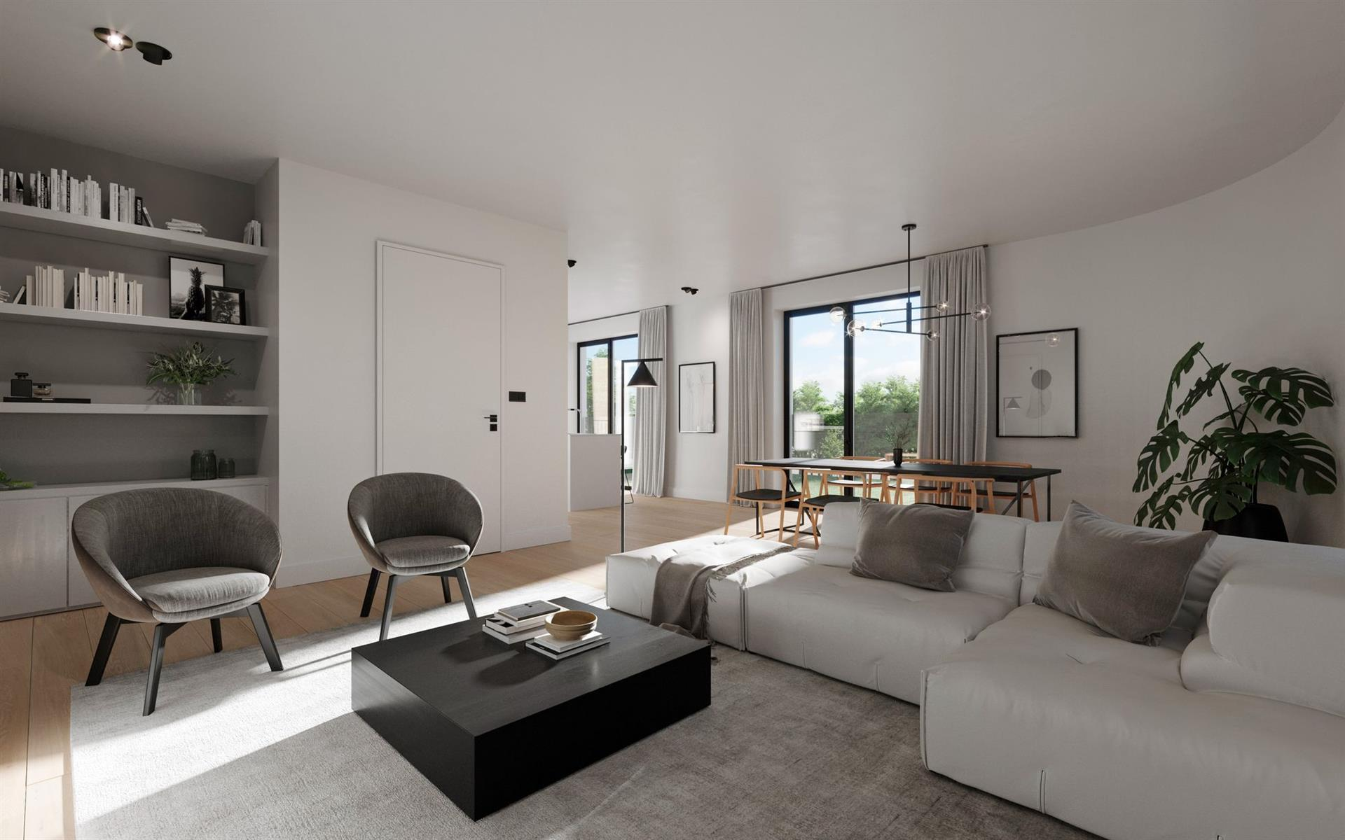 Prachtig grondgebonden appartement te Ename.