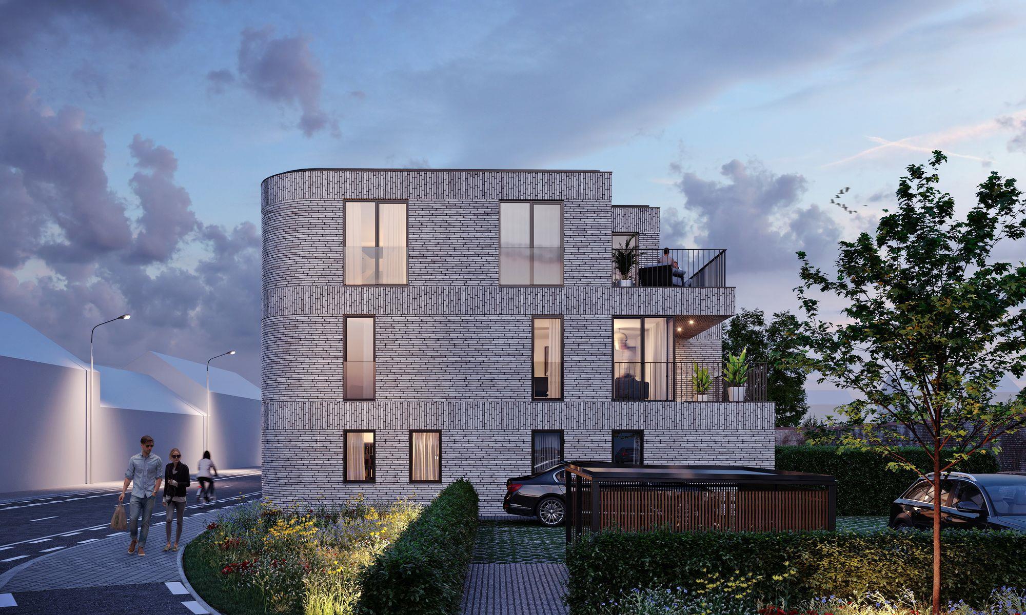 Prachtig grondgebonden duplex in Residentie James te Ename.