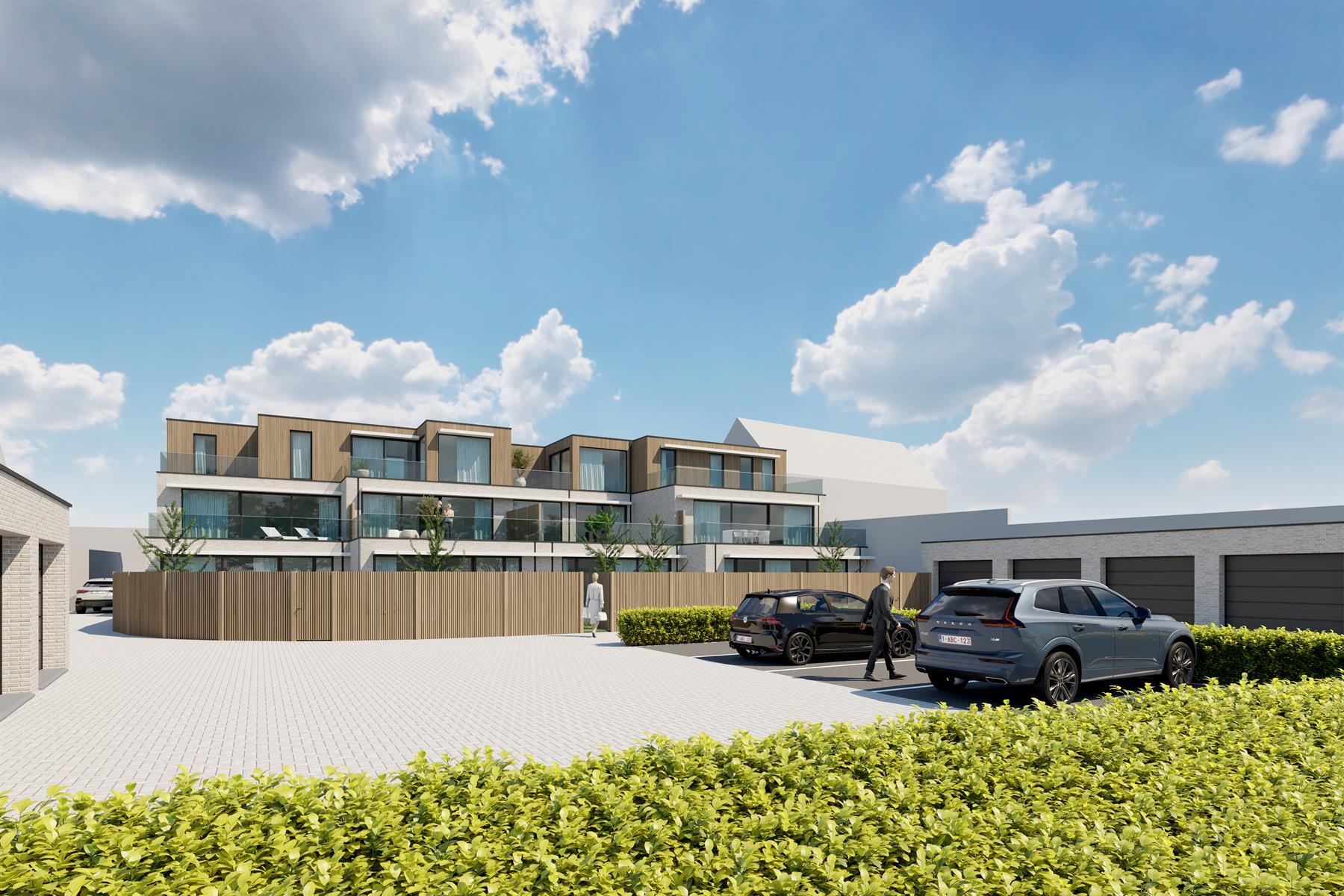 LAATSTE Appartementen project De Graanmolen - Bavegem