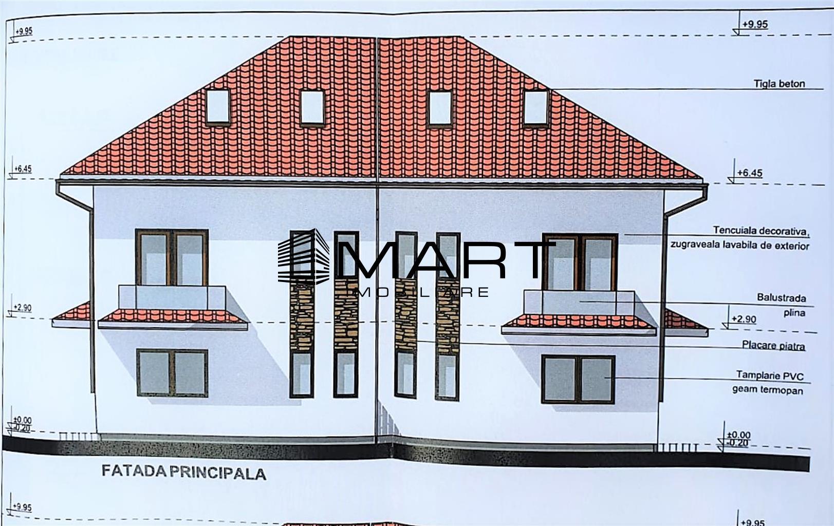 Duplex 4 camere 150 mp  zona Trifoiului Selimbar