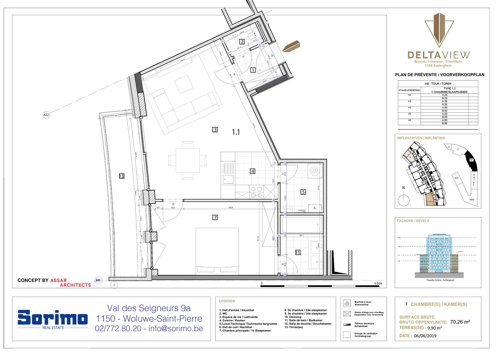 Appartement - Auderghem - #3981575-0