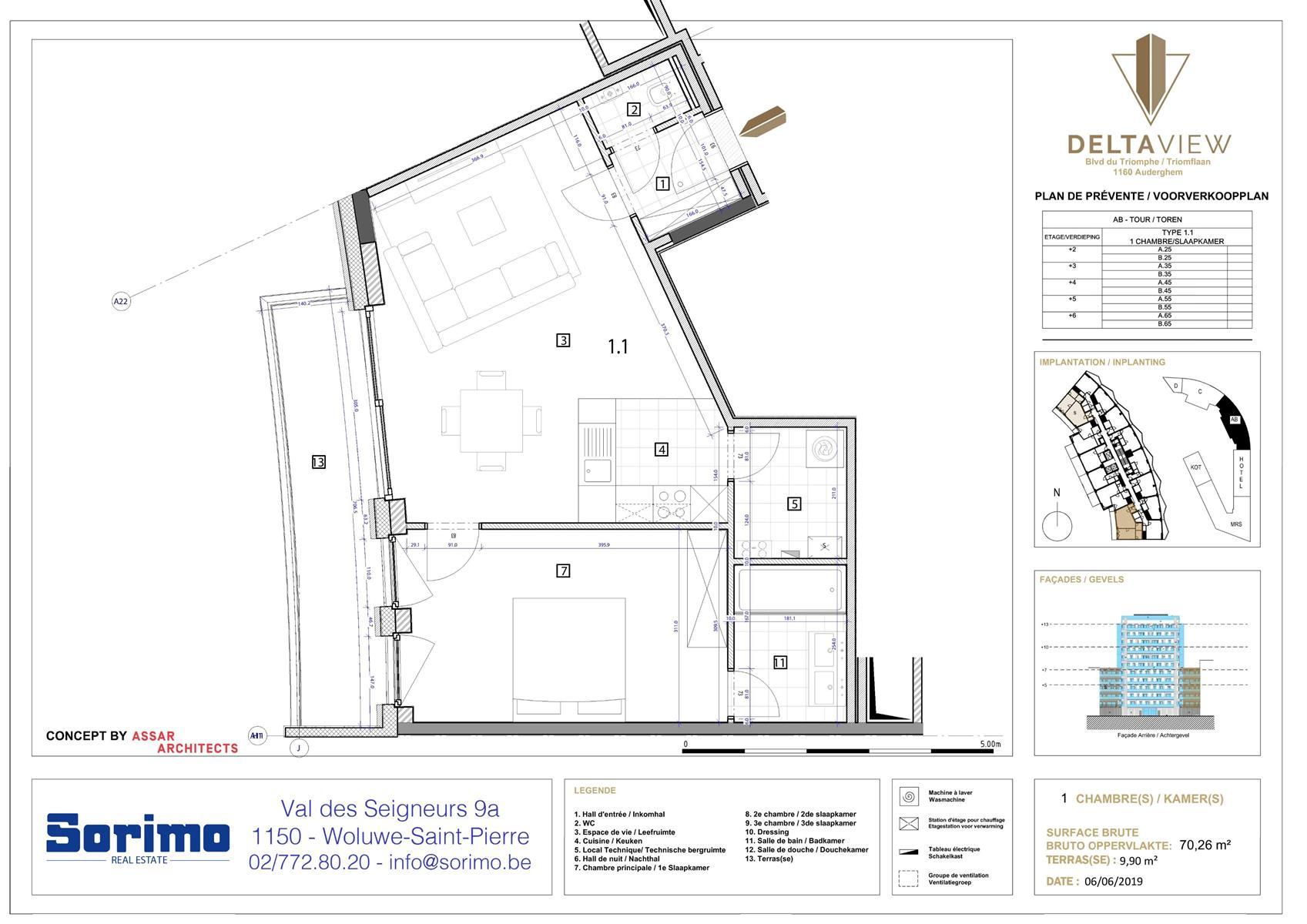 Appartement - Auderghem - #3986314-2