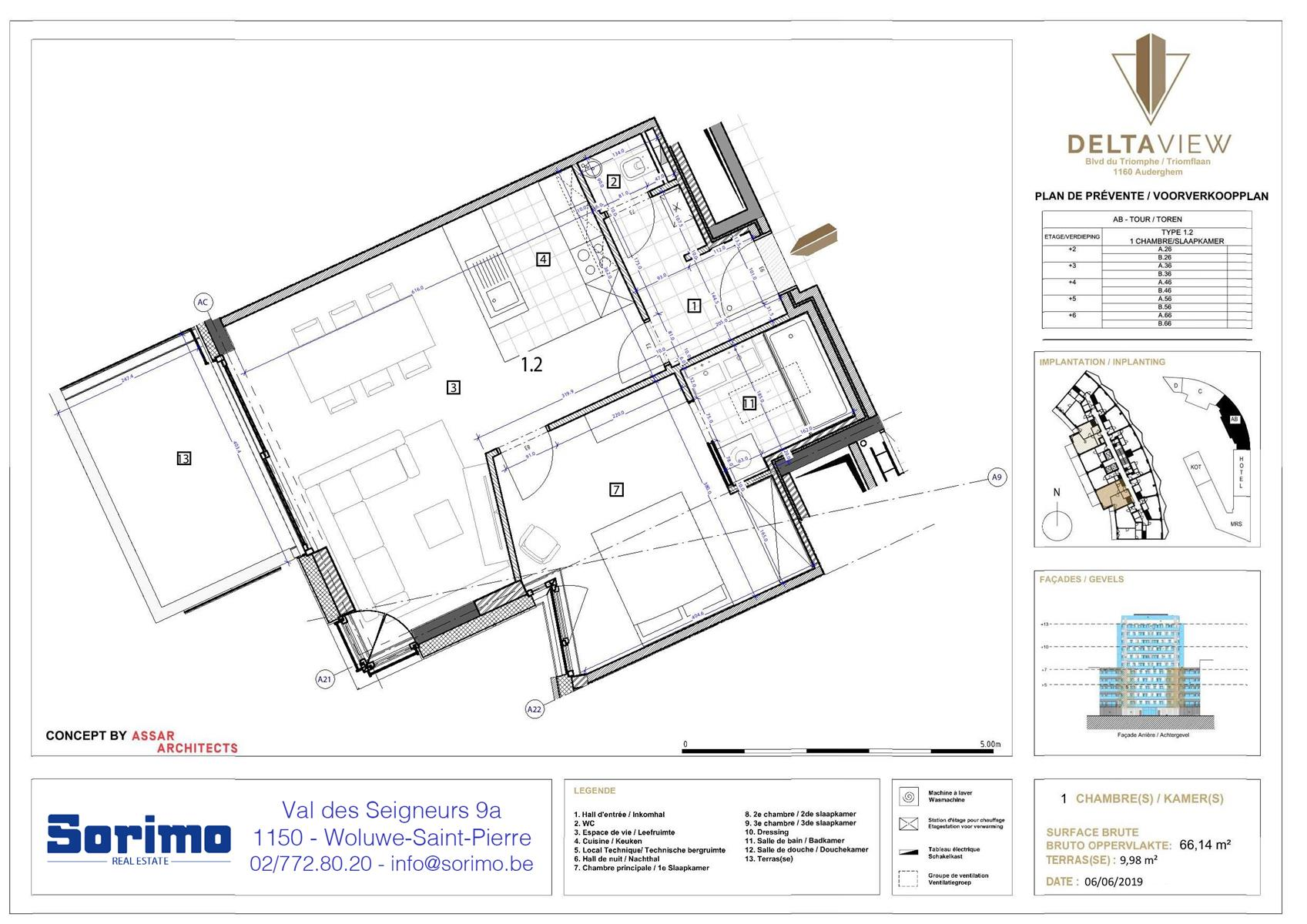 Appartement - Auderghem - #3986496-0