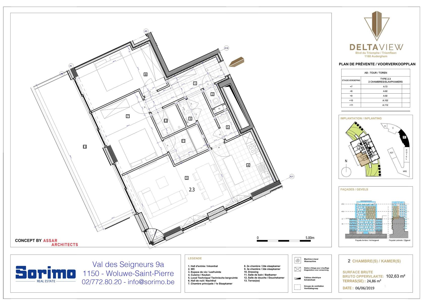 Appartement - Auderghem - #3986544-1