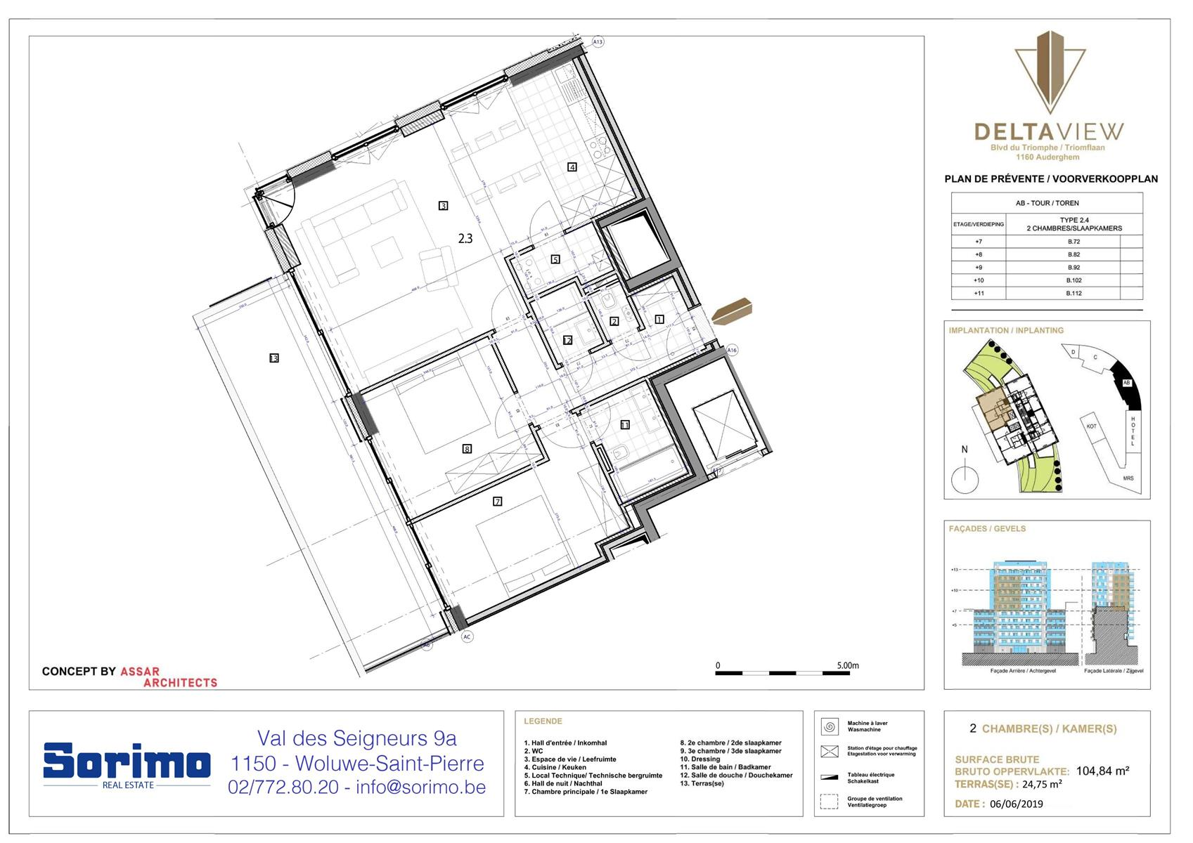 Appartement - Auderghem - #3987432-1