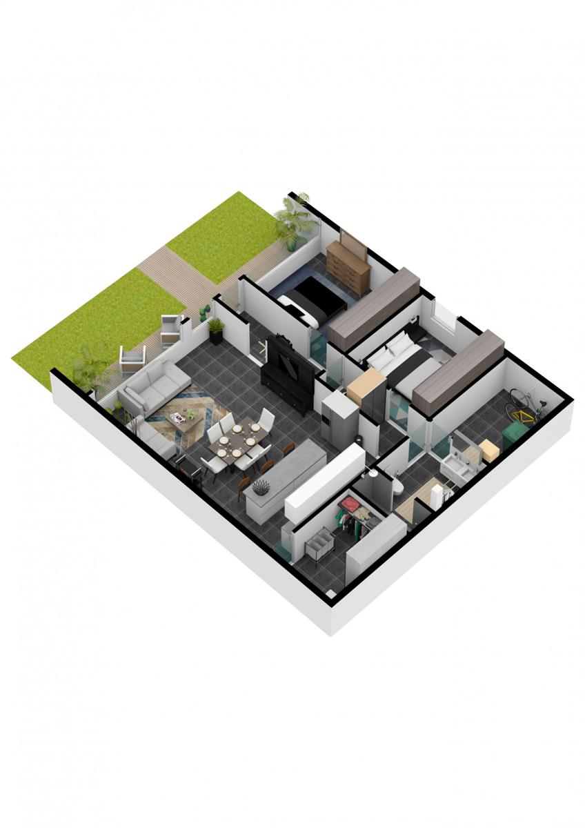 Appartement avec jardin - Herve - #4104136-8