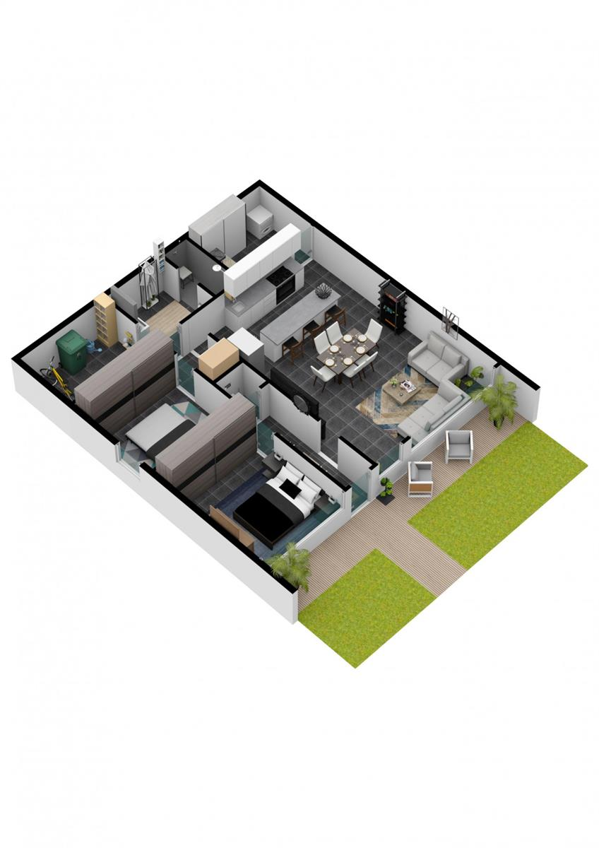 Appartement avec jardin - Herve - #4104139-7