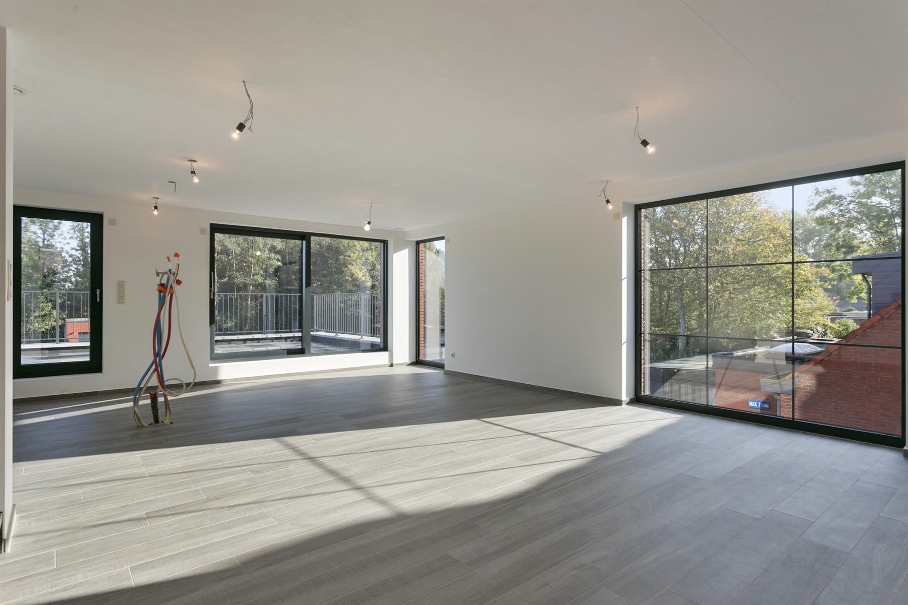 Nieuwbouw duplex met 3 slaapkamers en optioneel garagebox.