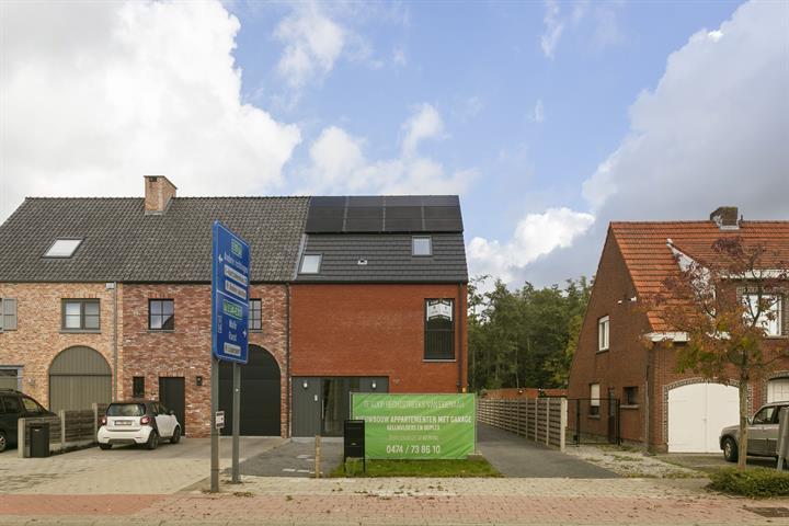 Kleinschalig nieuwbouwproject van 2 appartementen.