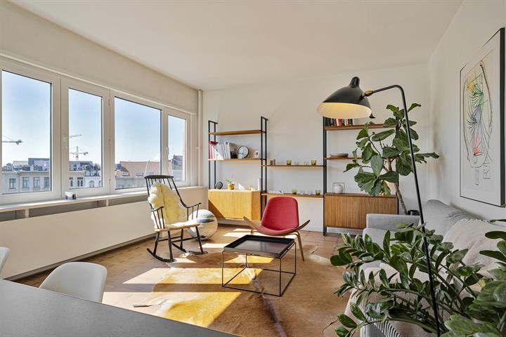 Vintage chic appartement met topuitzicht!