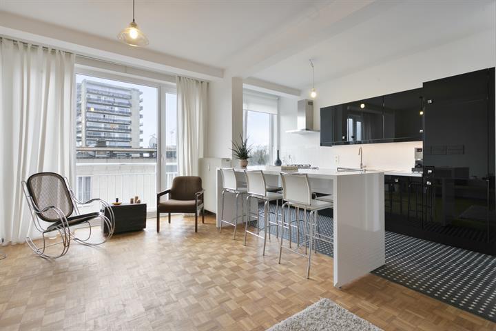 Gerenoveerd appartement aan Albertpark met 2 slaapkamers en terras.