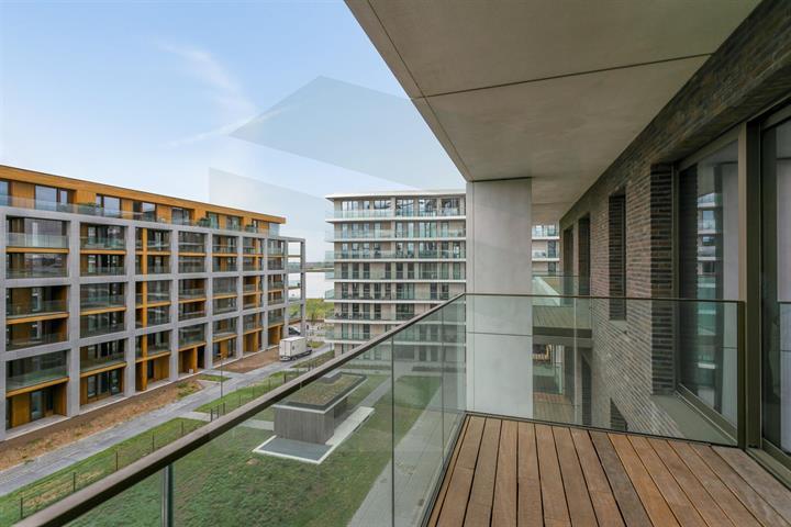 Nieuwbouwappartement met terras op Nieuw Zuid.