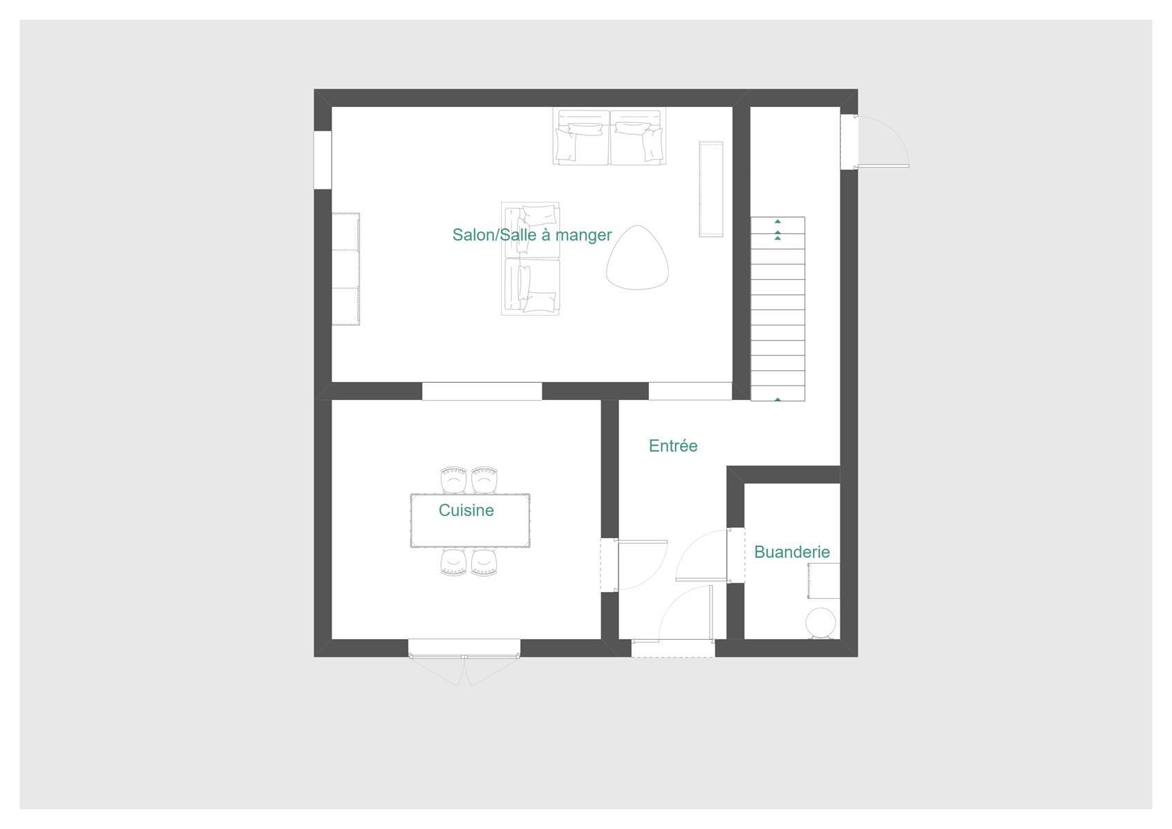 Immeuble à appartements - Tellin Resteigne - #4350216-21