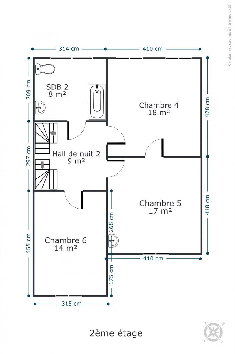 Maison de maître - Rochefort - #4534945-38