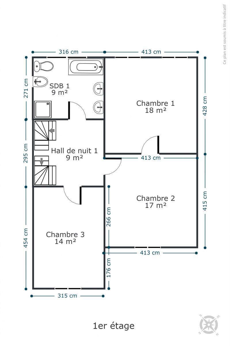 Maison de maître - Rochefort - #4534945-37