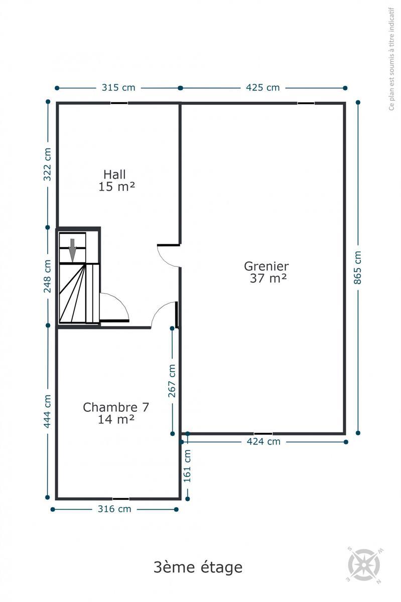 Maison de maître - Rochefort - #4534945-39