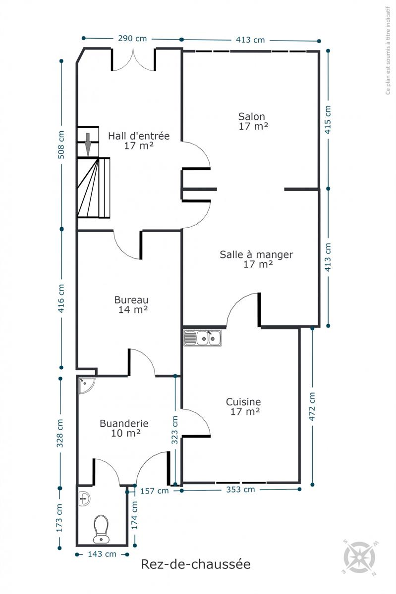 Maison de maître - Rochefort - #4534945-36