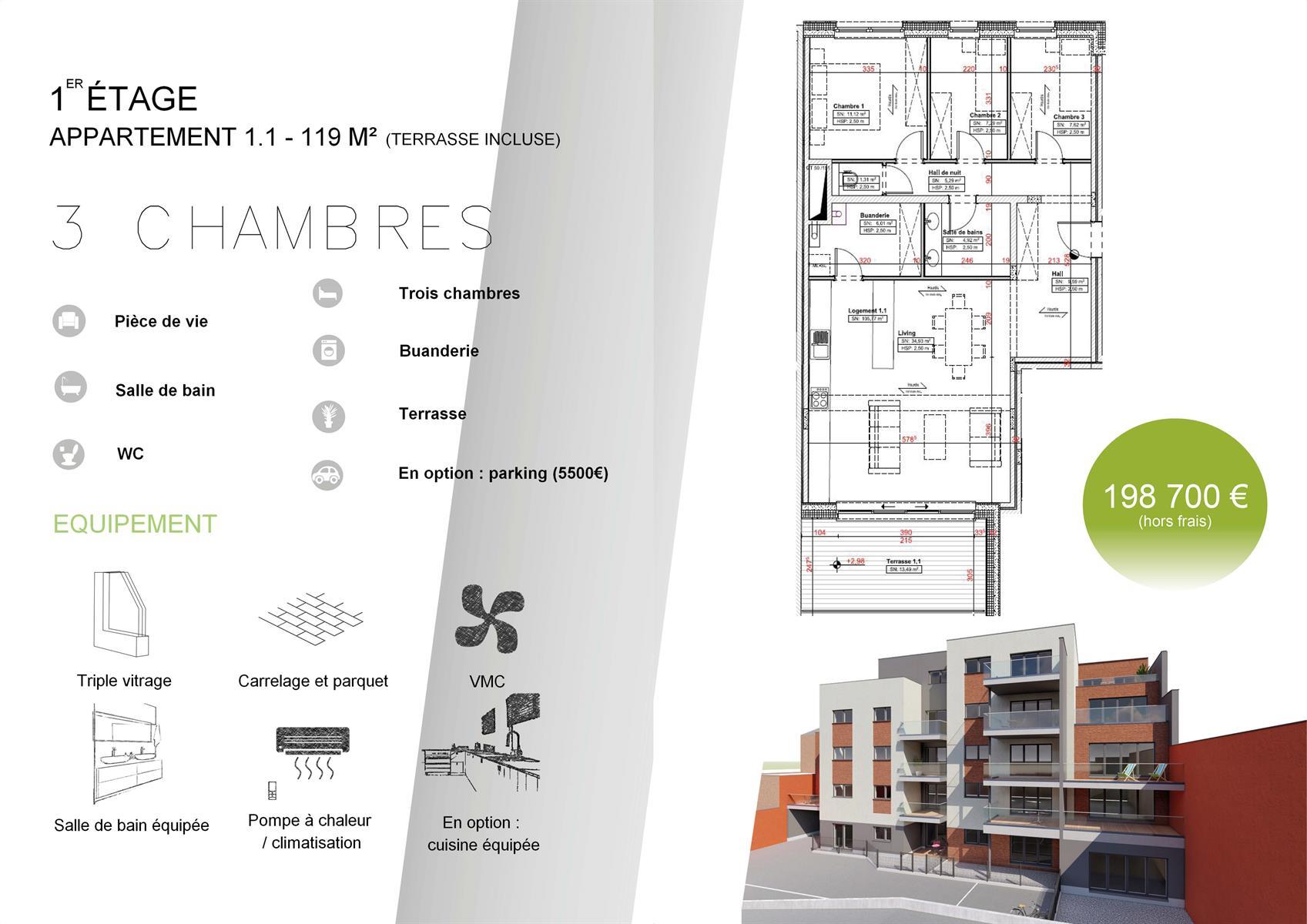 Appartement - Verviers - #3915031-0