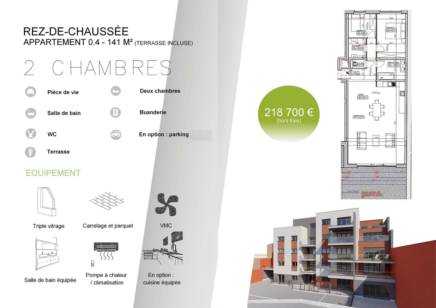 Rez-de-chaussée - Verviers - #3915087-2