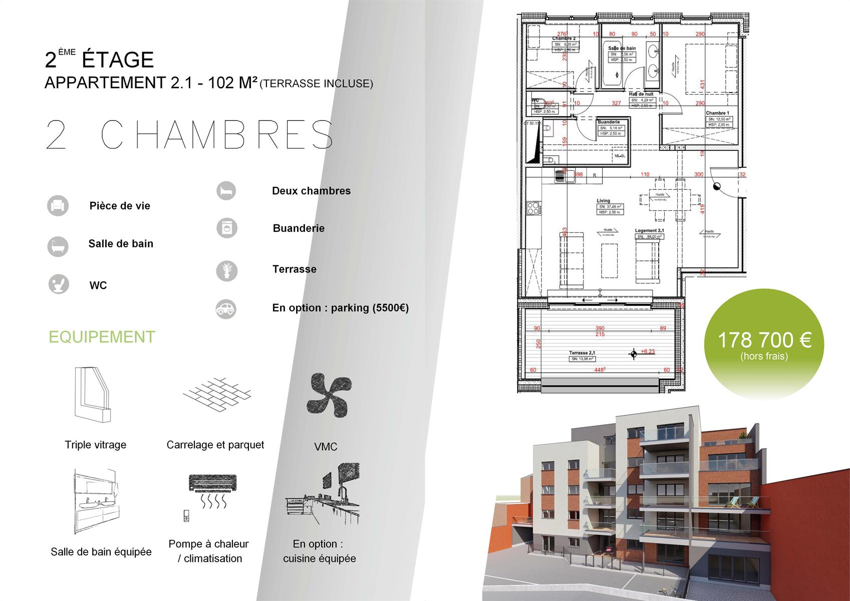 Appartement - Verviers - #3915917-0