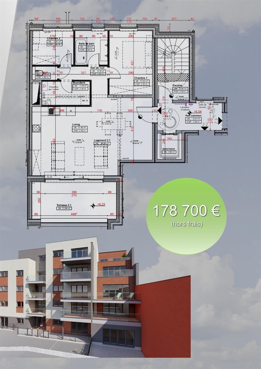 Appartement - Verviers - #3915917-2