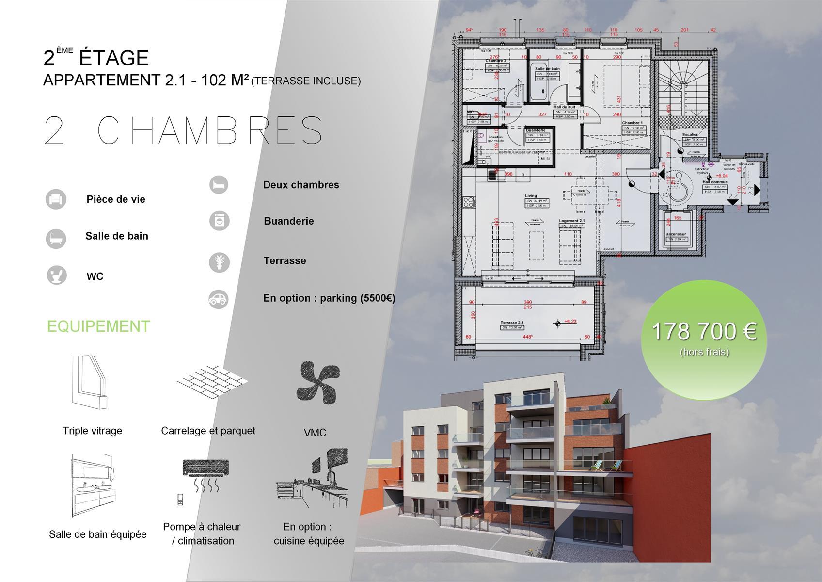 Appartement - Verviers - #3915917-6