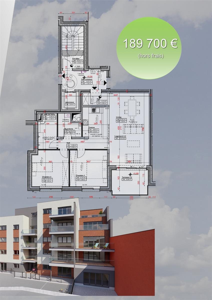 Appartement - Verviers - #3915938-2