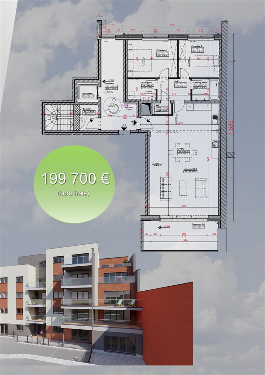 Appartement - Verviers - #3915960-2