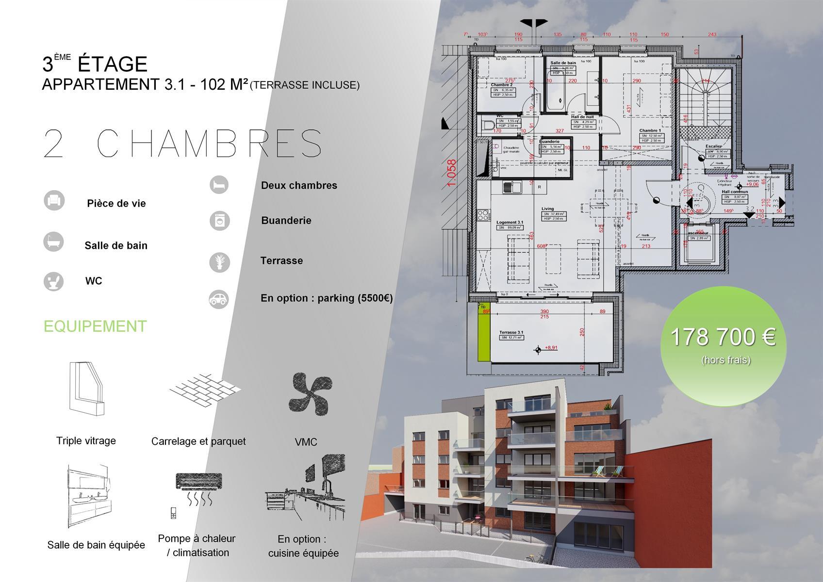 Appartement - Verviers - #3916570-0