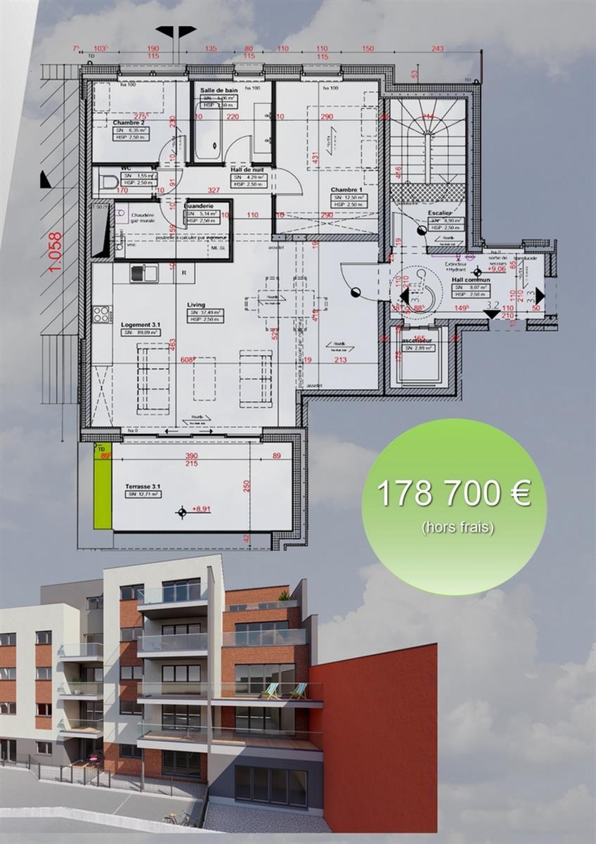 Appartement - Verviers - #3916570-2