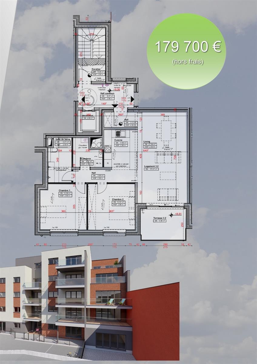 Appartement - Verviers - #3916572-2