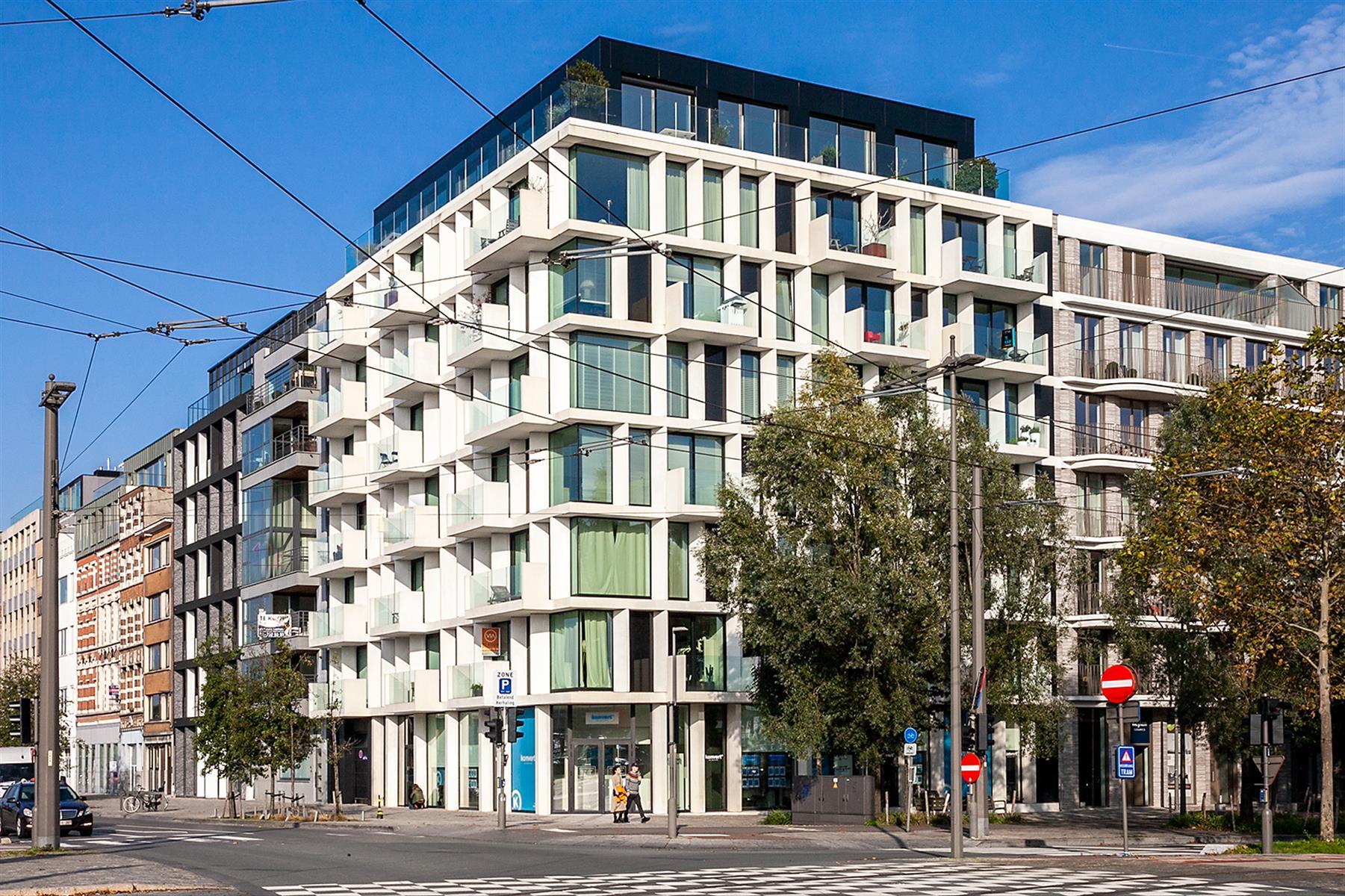 Uitzonderlijk appartement van ca 80m2 gelegen op de 5de verdieping in de oogverblindende residentie Melopee.