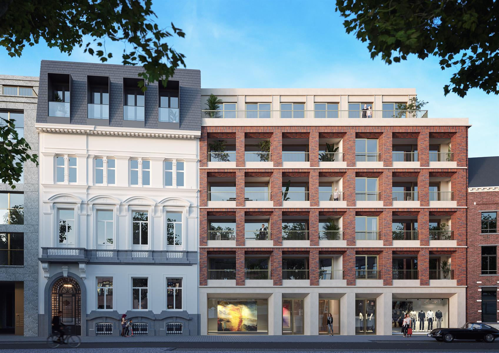 DEN OEVER wonen op een unieke plek in hartje Antwerpen.