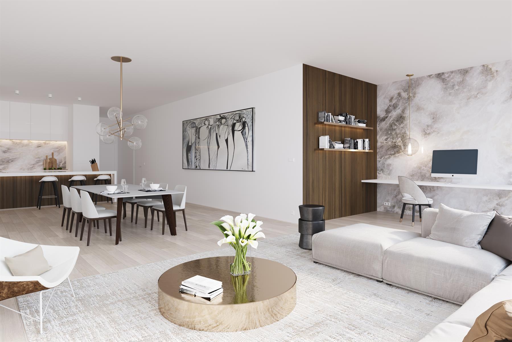 Luxe nieuwbouwappartement nabij het Eilandje en Park Spoor Noord.