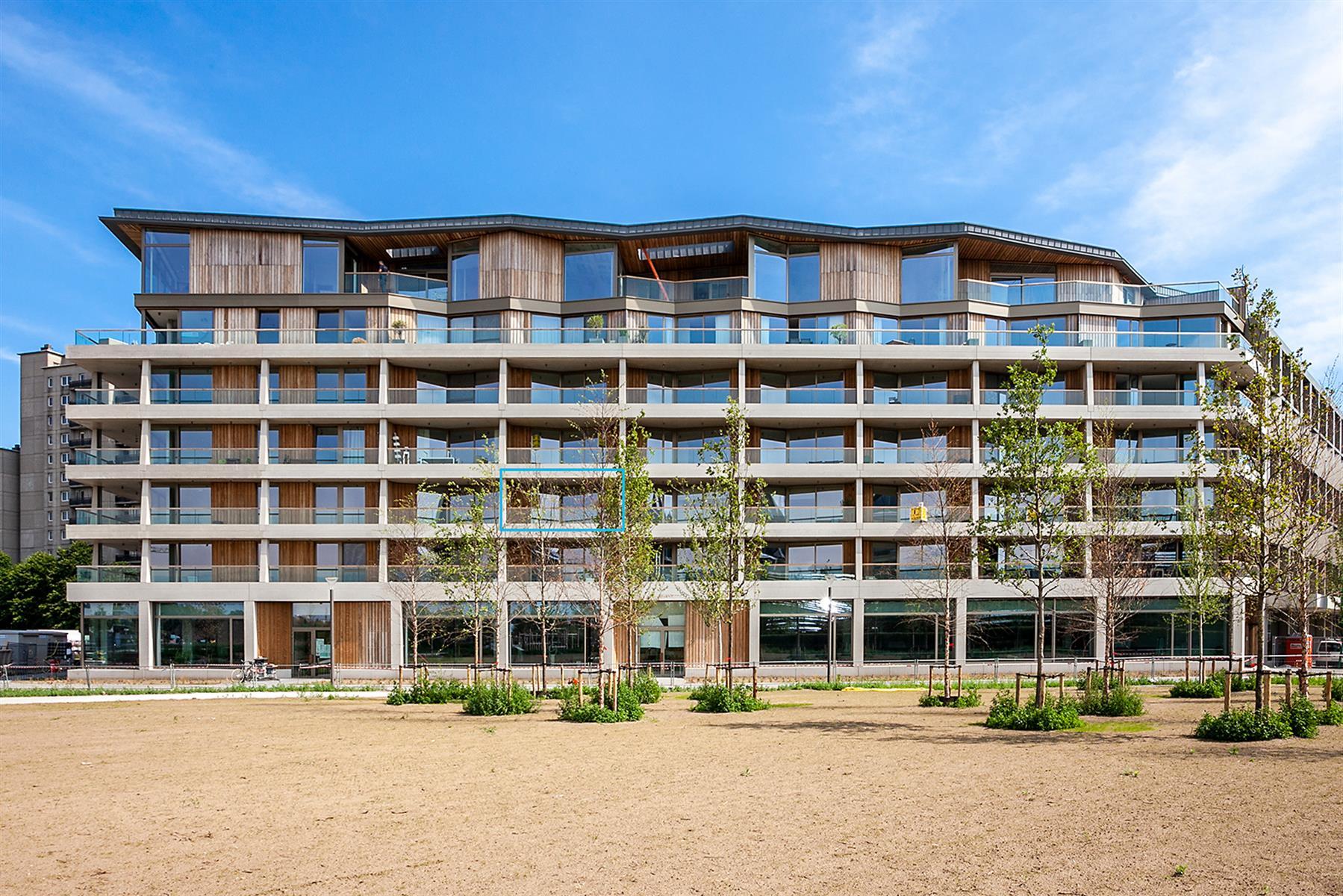 Nieuw appartement in project The Résidence met 2 slaapkamers en terrassen.