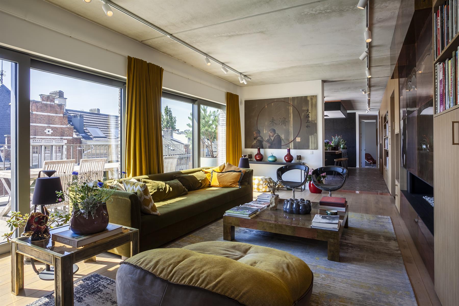 Luxueuze nieuwbouw penthouse met riant terras.