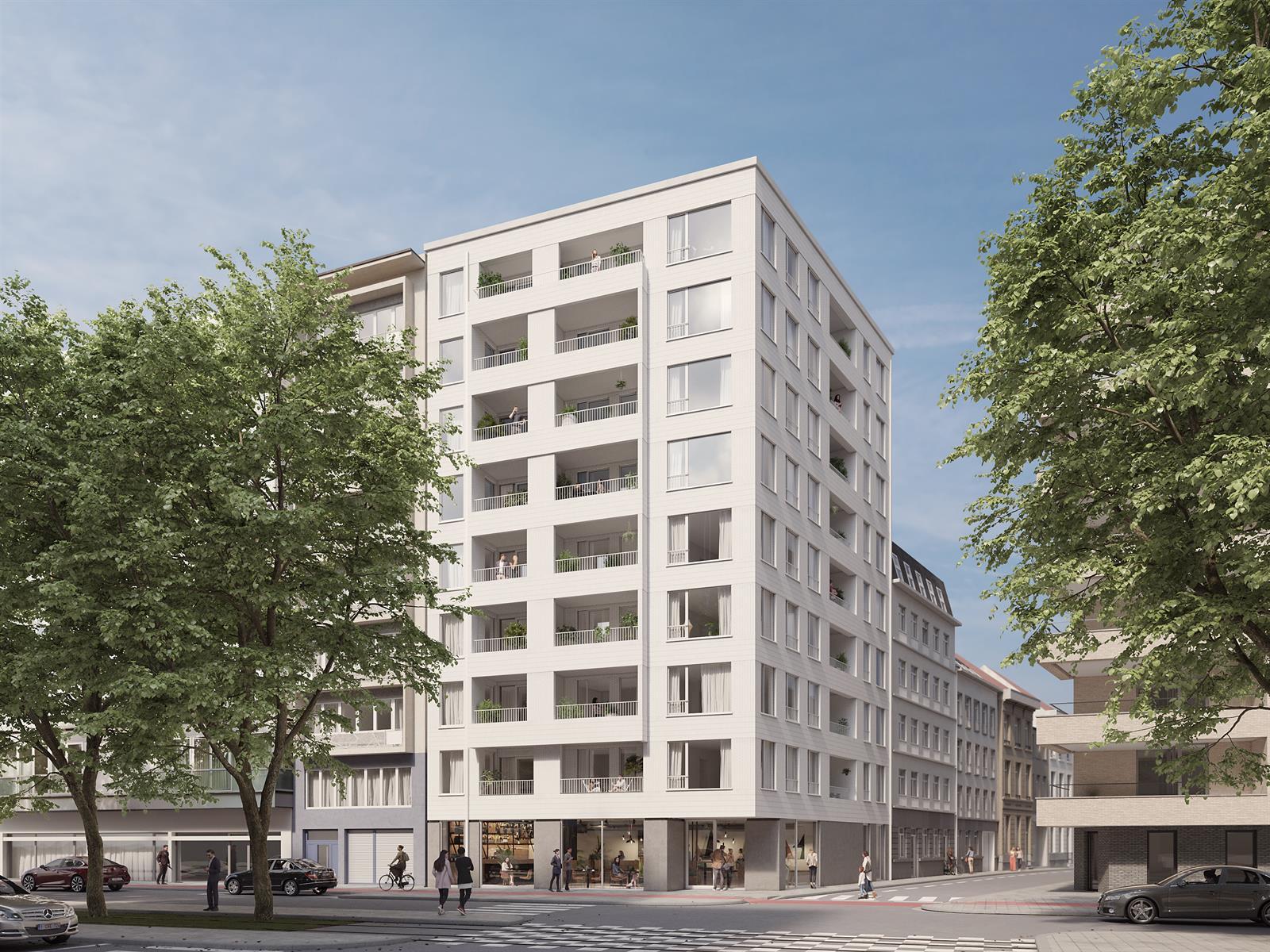 Energiezuinig en uiterst centraal wonen in Antwerpen.