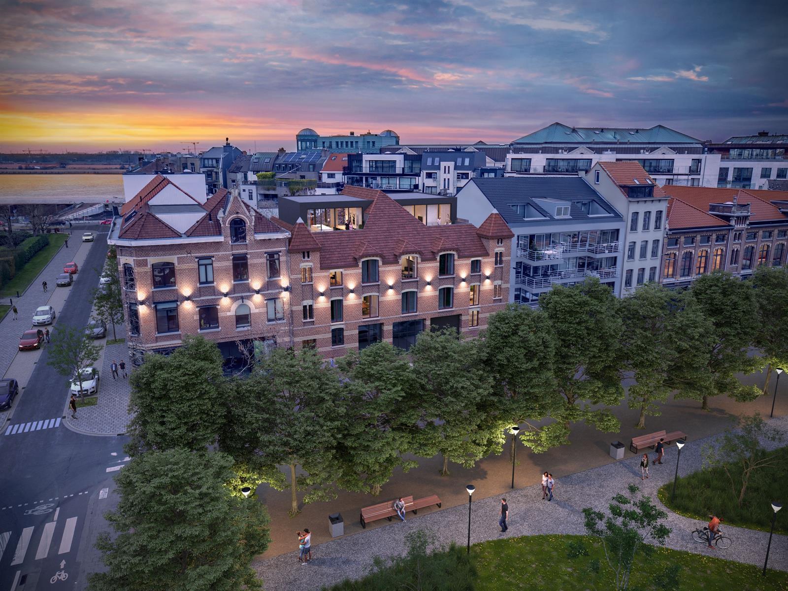 Luxueus wonen aan de Gedempte Zuiderdokken.