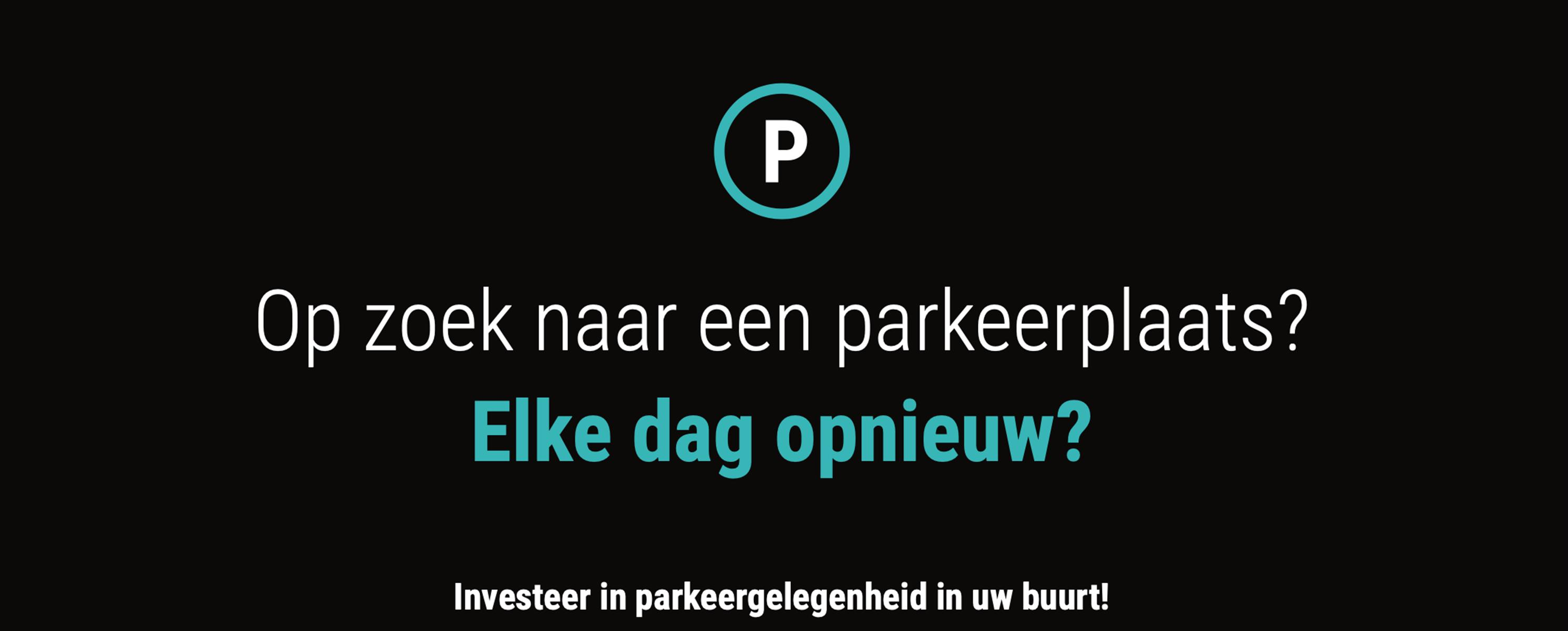 Parkeergelegenheid thv Gedempte Zuiderdokken.