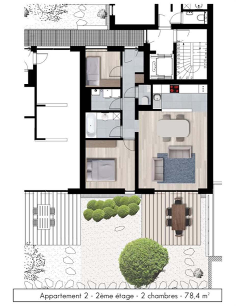 Appartement - Namur - #3979263-5