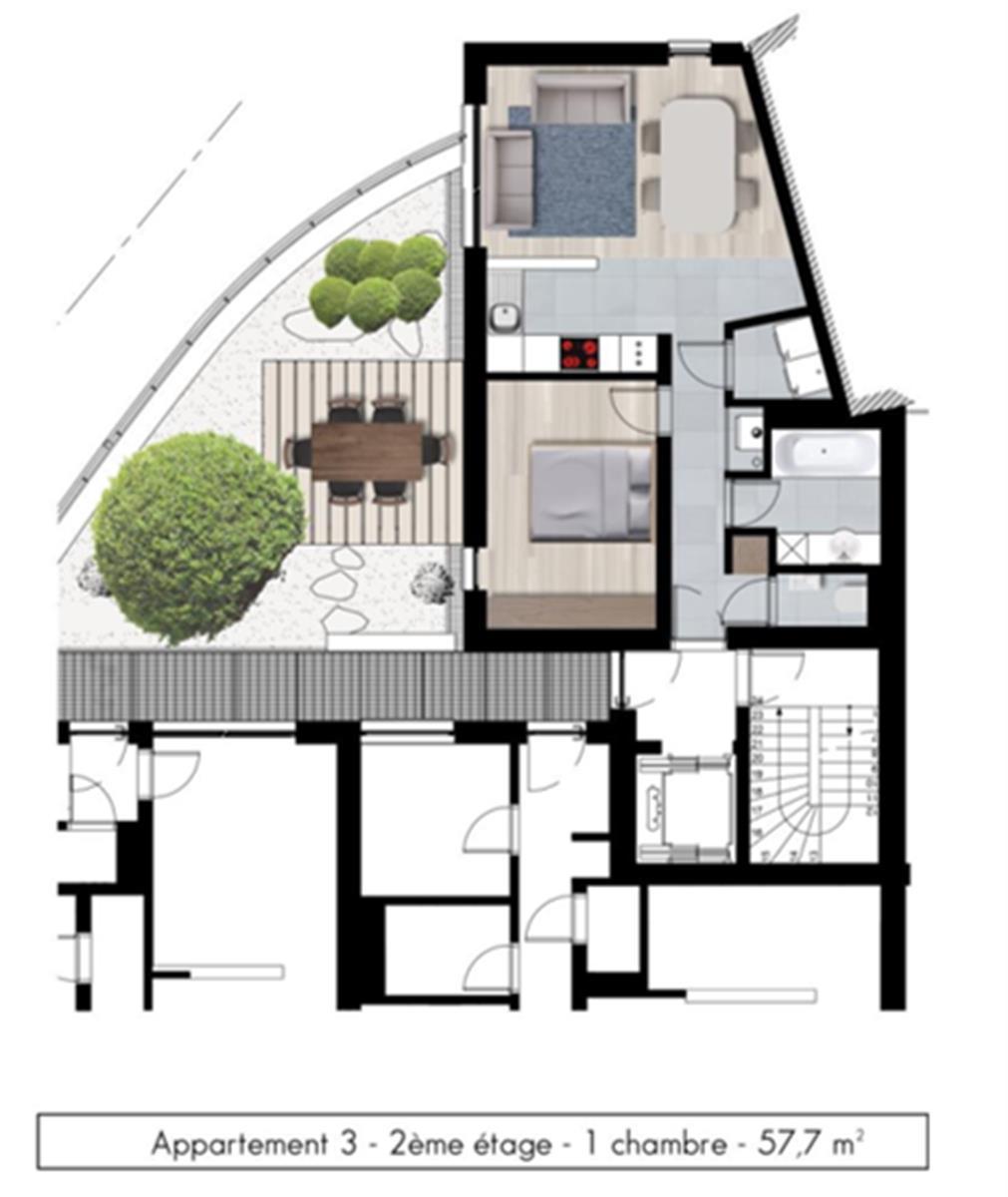 Appartement - Namur - #3979263-3