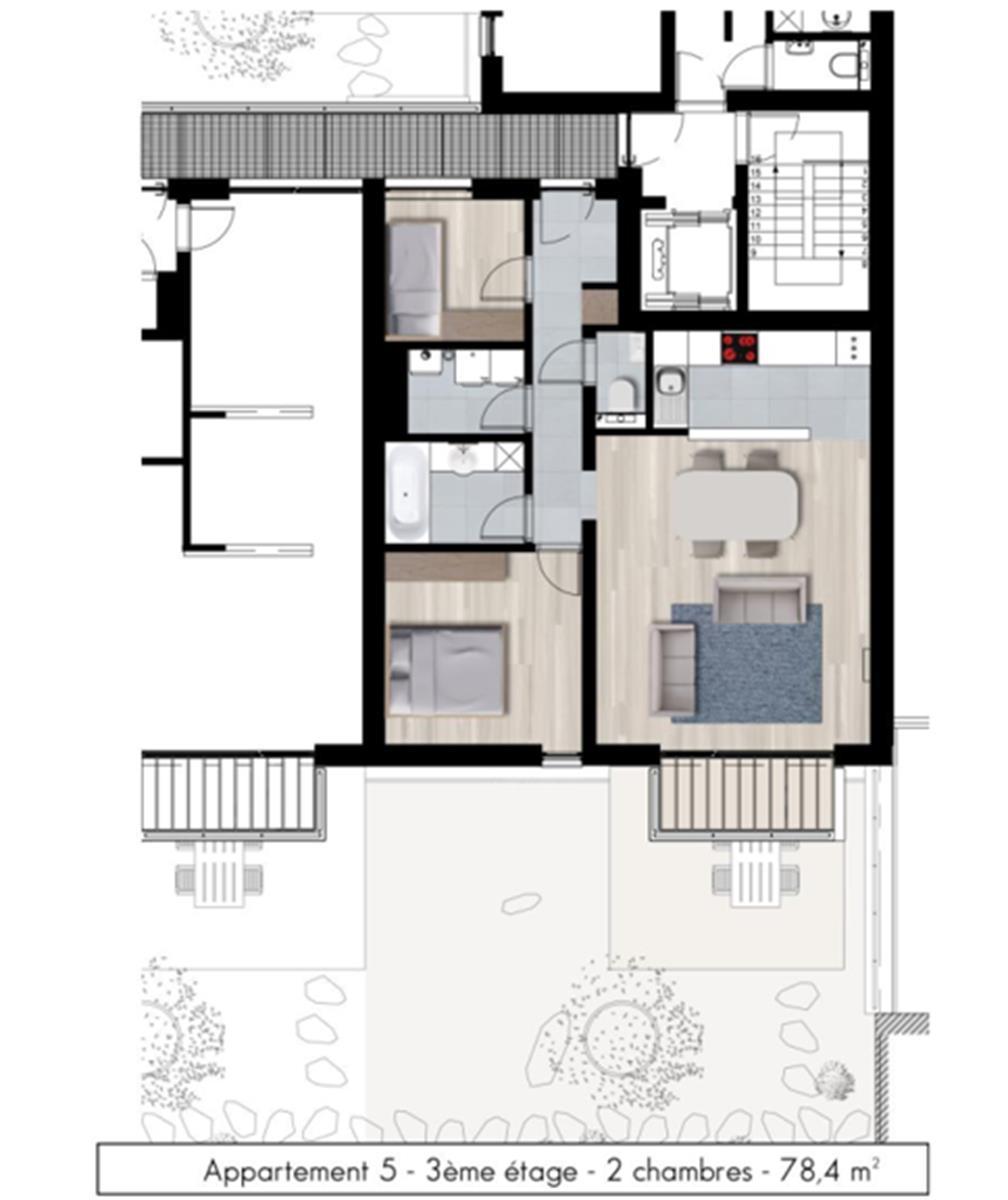 Appartement - Namur - #3979263-2