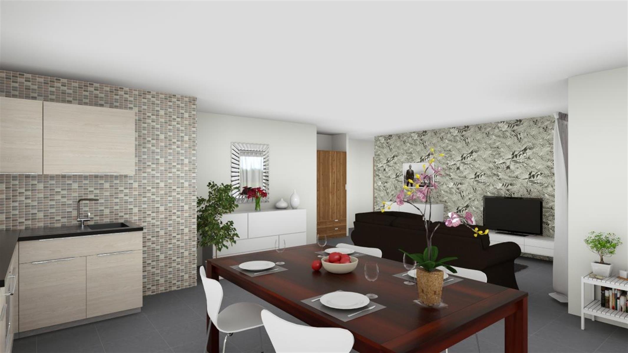 Appartement de standing 2 chambres avec terrasse