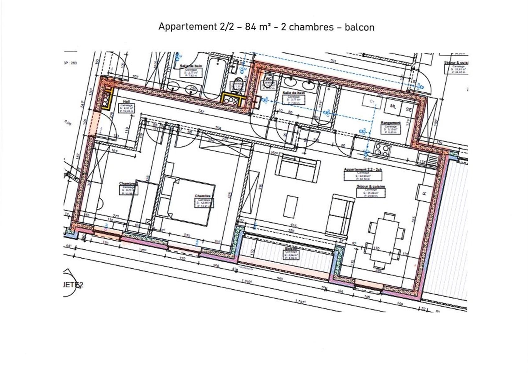 Appartement - Charleroi Roux - #4405960-3
