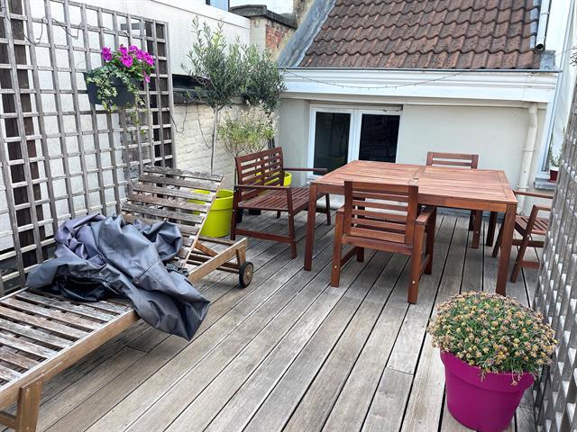 Penthouse avec superbe terrasse-quartier Européen