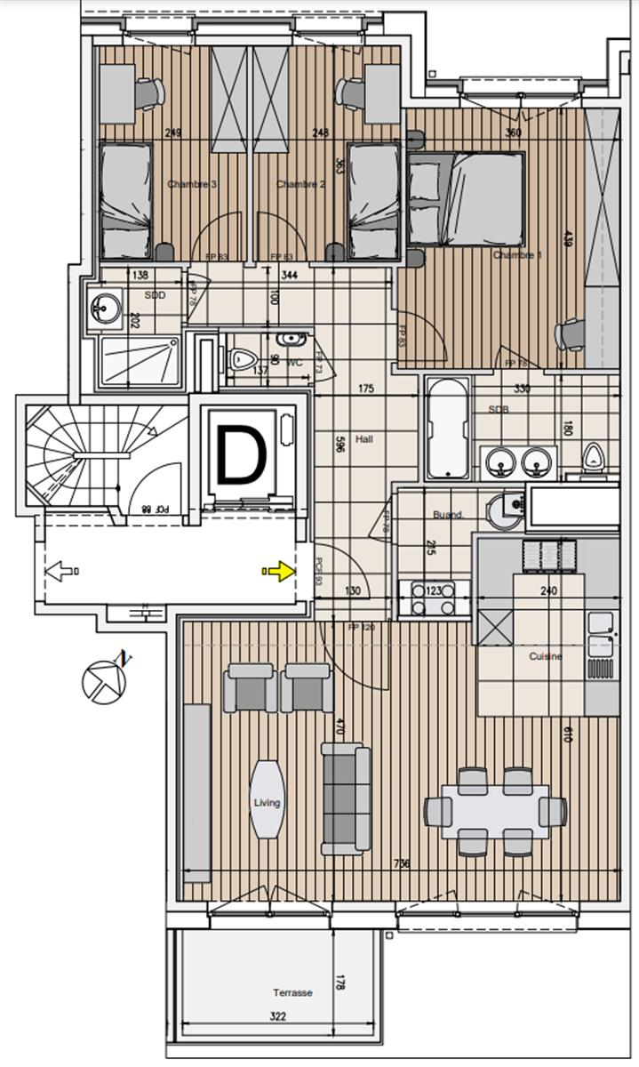 Appartement - Evere - #4167636-1