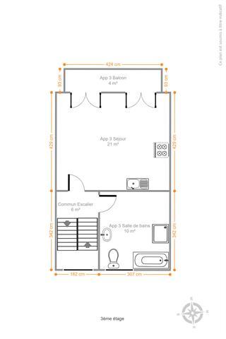Morgan's Real Estate vous présente cet immeuble composé de 2 unités, RDC commercial/bureau et un logement unifamiliale