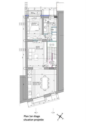 Infos et visites uniquement par e-mail : fabian@morgans  SAINT-GILLES - Rue du Lycée 17 - Idéalement situé à proximité des transports en commun, des commerces, des écoles, et des toutes les facilités; superbe appartement entièrement rénové situé au 1er étage